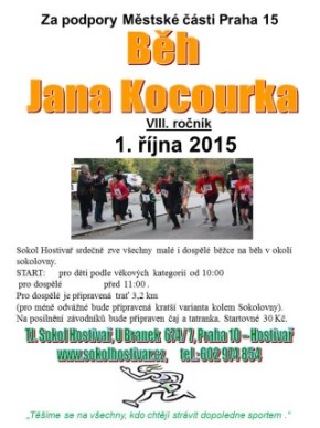 Běh Jana Kocourka 2016